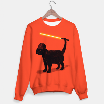 Cat Vader Sweater miniature
