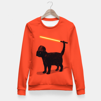Cat Vader Fitted Waist Sweater miniature