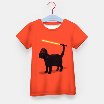 Cat Vader Kid's T-shirt miniature