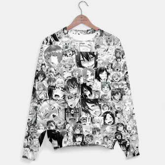 Thumbnail image of Anime Ahegao Face Hentai Girls Sudadera, Live Heroes