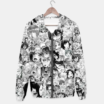 Thumbnail image of Anime Ahegao Face Hentai Girls Sudadera con capucha, Live Heroes