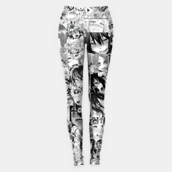 Thumbnail image of Anime Ahegao Face Hentai Girls Leggings, Live Heroes
