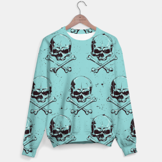 Thumbnail image of Skull pattern Sweater, Live Heroes