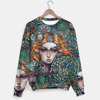 Thumbnail image of Wisdom Design Sweater, Live Heroes