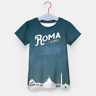 Thumbnail image of Roma by Night2 Kid's T-shirt, Live Heroes