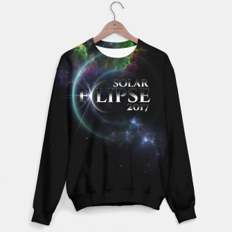 Thumbnail image of Solar Eclipse 2017 Fractal Art Sweater, Live Heroes
