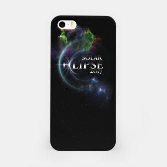 Thumbnail image of Solar Eclipse 2017 Fractal Art iPhone Case, Live Heroes