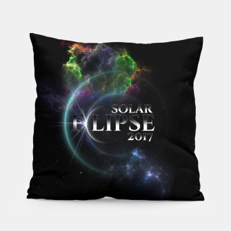 Thumbnail image of Solar Eclipse 2017 Fractal Art Pillow, Live Heroes