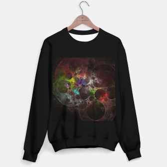 Thumbnail image of Multicolored fractal with holes Sweater regular, Live Heroes
