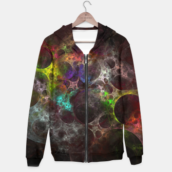 Thumbnail image of Multicolored fractal with holes Hoodie, Live Heroes