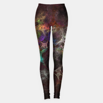Thumbnail image of Multicolored fractal with holes Leggings, Live Heroes