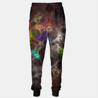 Thumbnail image of Multicolored fractal with holes Sweatpants, Live Heroes