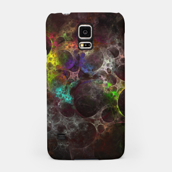 Thumbnail image of Multicolored fractal with holes Samsung Case, Live Heroes