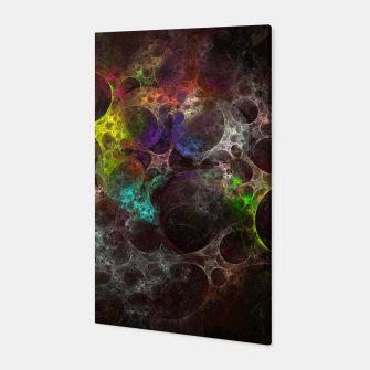Thumbnail image of Multicolored fractal with holes Canvas, Live Heroes