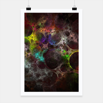 Thumbnail image of Multicolored fractal with holes Poster, Live Heroes