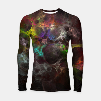 Thumbnail image of Multicolored fractal with holes Longsleeve Rashguard , Live Heroes