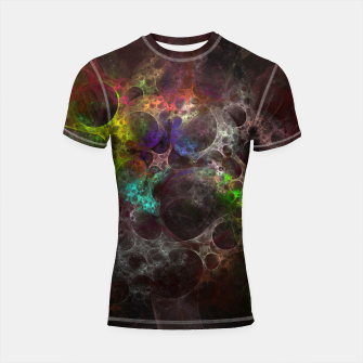 Thumbnail image of Multicolored fractal with holes Shortsleeve Rashguard, Live Heroes