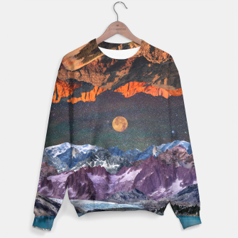 Thumbnail image of Two Earths Sweater, Live Heroes