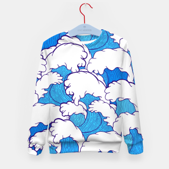 Miniature de image de As the waves roll in Kid's Sweater, Live Heroes