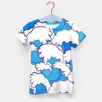 Thumbnail image of As the waves roll in Kid's T-shirt, Live Heroes