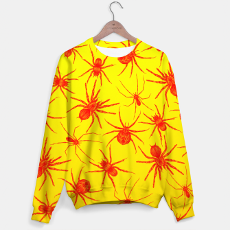 Thumbnail image of Yellow spider Sweater, Live Heroes