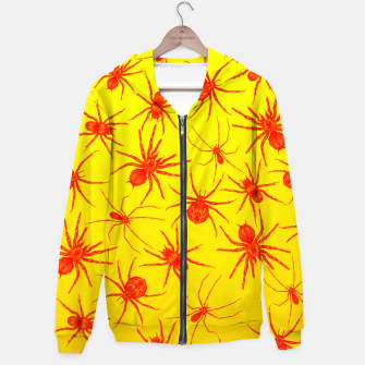 Thumbnail image of Yellow spider Hoodie, Live Heroes