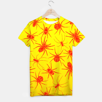 Thumbnail image of Yellow spider T-shirt, Live Heroes