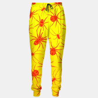 Thumbnail image of Yellow spider Sweatpants, Live Heroes