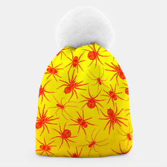 Thumbnail image of Yellow spider Beanie, Live Heroes