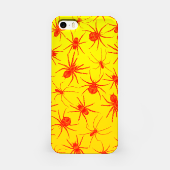 Thumbnail image of Yellow spider iPhone Case, Live Heroes