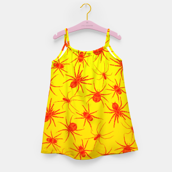 Thumbnail image of Yellow spider Girl's Dress, Live Heroes