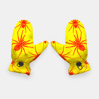 Thumbnail image of Yellow spider Gloves, Live Heroes