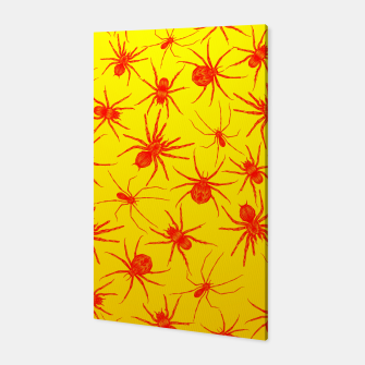Thumbnail image of Yellow spider Canvas, Live Heroes
