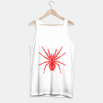 Thumbnail image of Red Spider Tank Top regular, Live Heroes