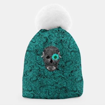 Miniatur Insect Skull Beanie, Live Heroes