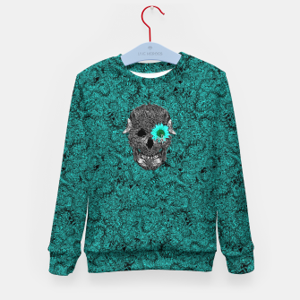 Miniatur Insect Skull Kid's Sweater, Live Heroes
