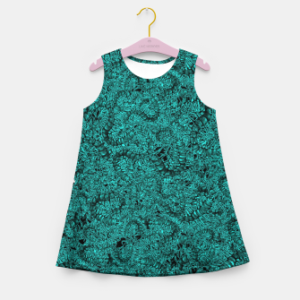 Miniatur Insect Skull Girl's Summer Dress, Live Heroes