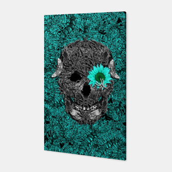 Miniatur Insect Skull Canvas, Live Heroes