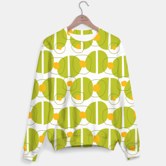 Thumbnail image of Green abstract pattern Sweater, Live Heroes