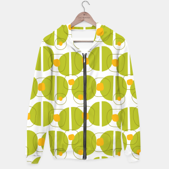Thumbnail image of Green abstract pattern Hoodie, Live Heroes