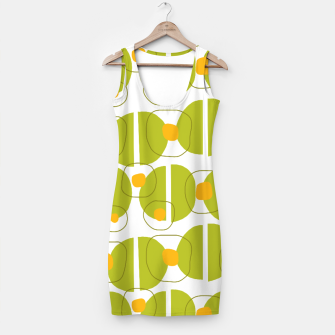 Thumbnail image of Green abstract pattern Simple Dress, Live Heroes