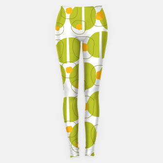 Thumbnail image of Green abstract pattern Leggings, Live Heroes