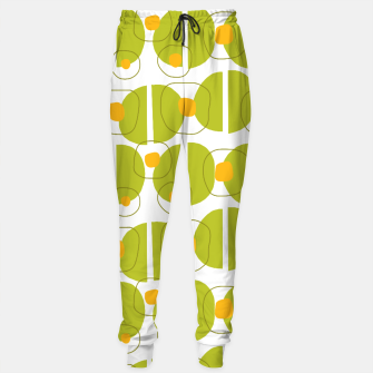 Thumbnail image of Green abstract pattern Sweatpants, Live Heroes