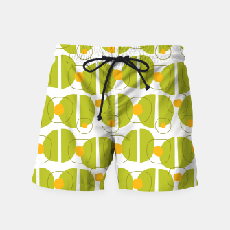 Thumbnail image of Green abstract pattern Swim Shorts, Live Heroes