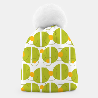 Thumbnail image of Green abstract pattern Beanie, Live Heroes