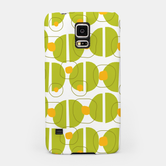 Thumbnail image of Green abstract pattern Samsung Case, Live Heroes
