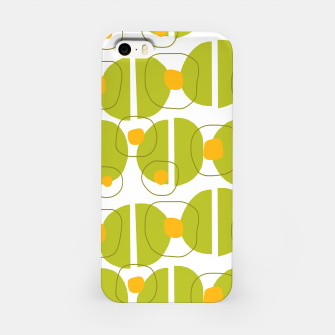 Thumbnail image of Green abstract pattern iPhone Case, Live Heroes