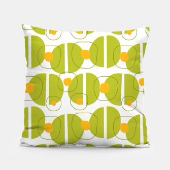 Thumbnail image of Green abstract pattern Pillow, Live Heroes