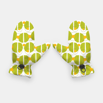 Thumbnail image of Green abstract pattern Gloves, Live Heroes