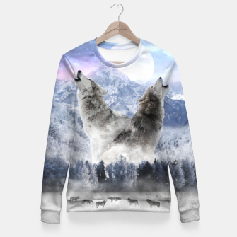 Thumbnail image of The Pack Taillierte Sweatshirt, Live Heroes